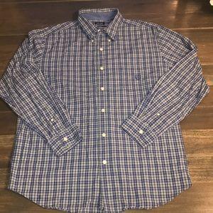 Men's Chaps Long Sleeve Button Dress Shirt